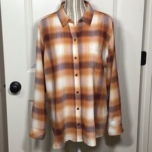 Sonoma Goods for Life Fall Essential Shirt - XL